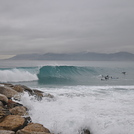 Mini Barrel glassy wave, Cannes
