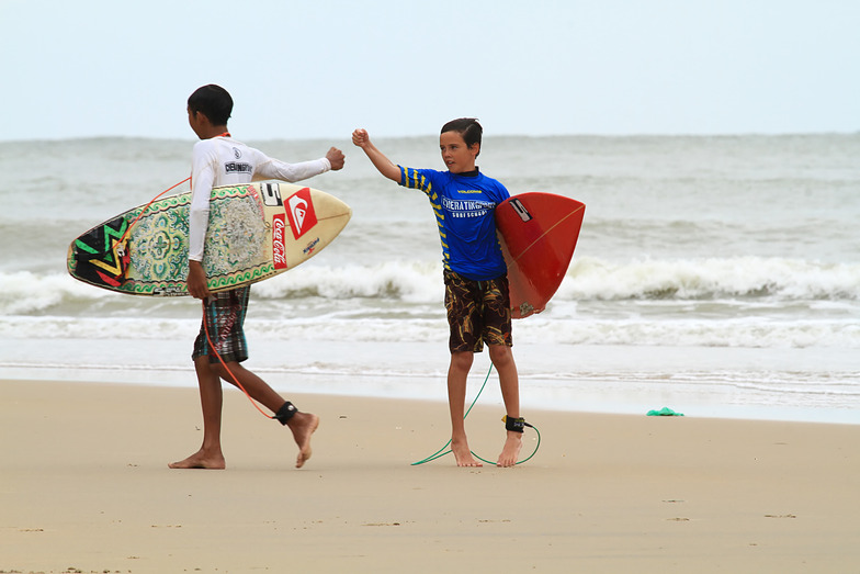 Volcom/cherating point surf competition 2015 January