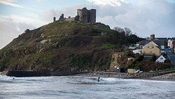 Llywelyn the Great would be proud, Criccieth photo