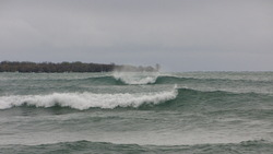 Clean Lake swell at Sandbanks, Sandbanks Provincial Park photo