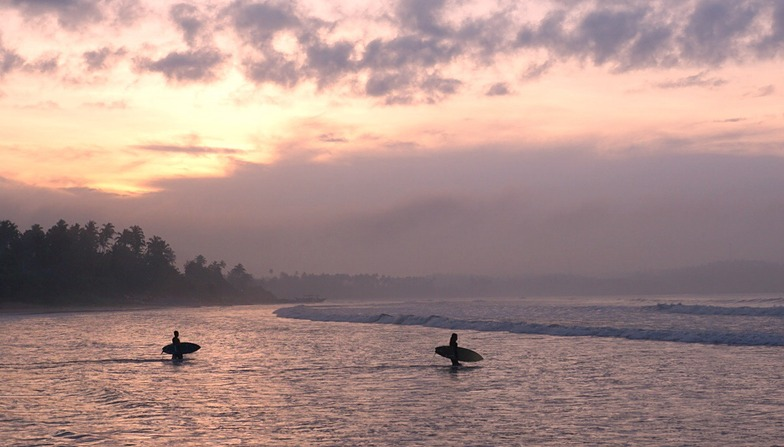 Early Morning, Weligama