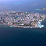 Male Atol, Maldives - from the air