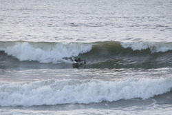 Afternoon Surf, Aberystwyth harbour trap photo