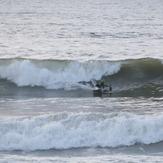Afternoon Surf, Aberystwyth harbour trap