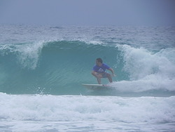 Backhand, Praia Brava photo