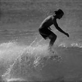 Surfing New Zealand1950's, Pakiri beach