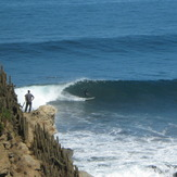 El Mirador section at Punta de Lobos