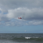 Coast Guard helicopter, Gillis