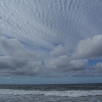 Alto cumulus clouds at Gillis