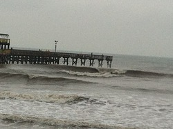 West side 61st, Galveston-61st Street Pier photo