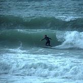 Short period storm swell, The Glen