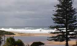 Big surf day, Wamberal Beach photo