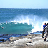 Even the pro shooter were out, Cronulla