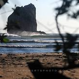 La Roca, Playa Negra