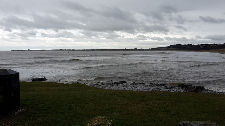 After the event, Ogmore-by-Sea