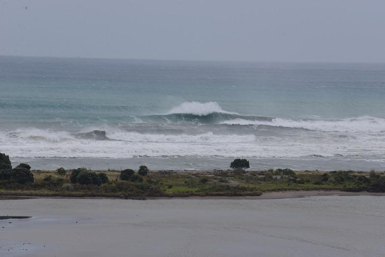 Ohope cyclone Pam, Ohope Beach