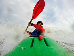 KAYAK SURFER, Benicassim photo