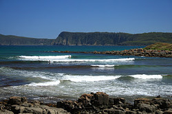 Not too Cloudy Bay, Bruny Island - Cloudy Bay photo