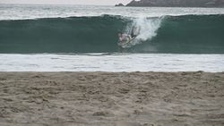 bodyboard, Escolleras photo