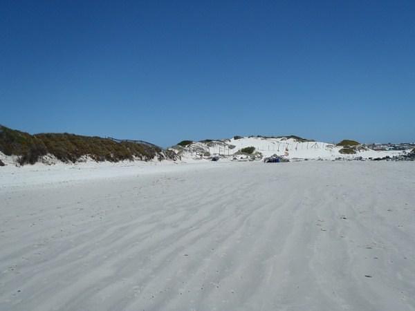 Start of 16 mile beach, Yzerfontein
