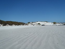 Start of 16 mile beach, Yzerfontein photo