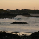 Doonloughan - Some wrap off a strong W swell.