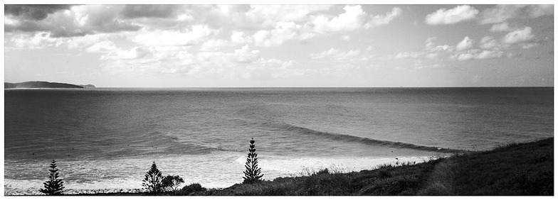 East coast surfing, Lennox Head