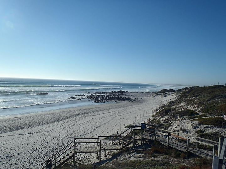 Main beach looking towards 16 mile., Yzerfontein
