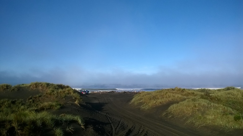 Autumn Morning at South Beach, South Beach (Wanganui)