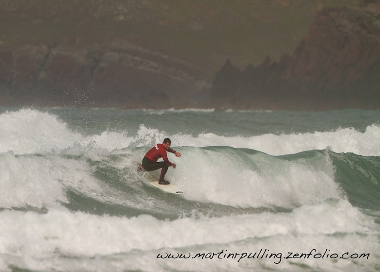 Welsh champs, Freshwater West