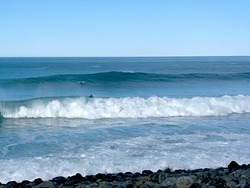Record of a small east swell, Meatworks photo