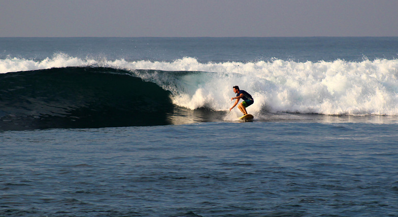 Early morning session, El Zunzal