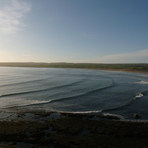 Tail end of Hurricane Danielle Swell, Lahinch Strand