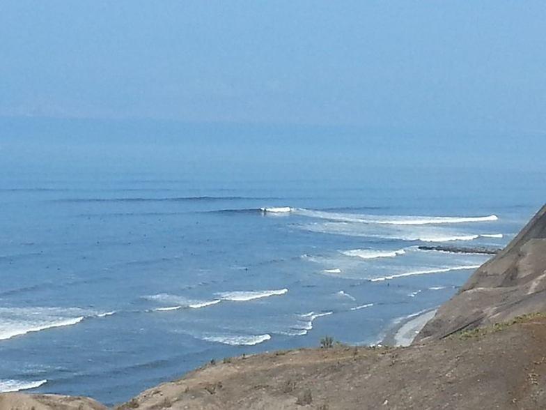 Punta Roquitas north swell