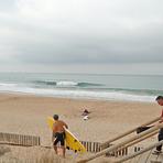 La llegada, Playa El Palmar