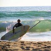 Atardecer en el Palmar, Playa El Palmar