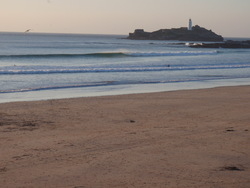 Building swell, Godrevy photo