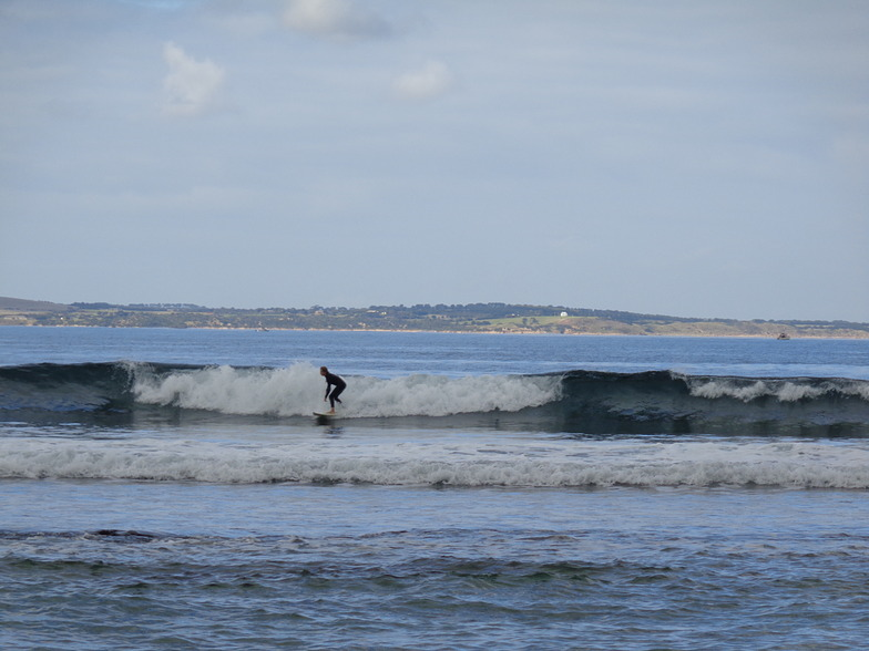Surfing at Point leo