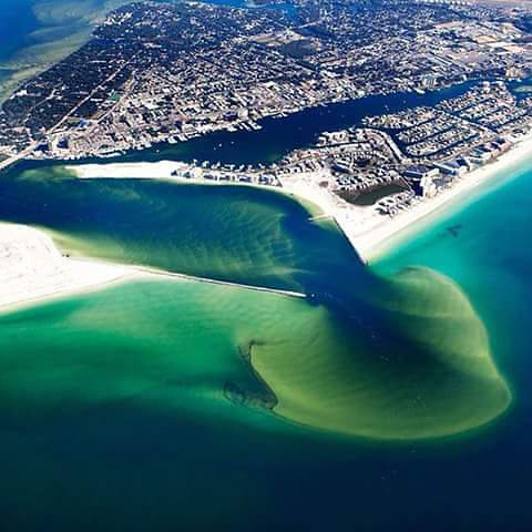 East Pass of the Emerald Coast & Destin Harbor