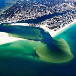 East Pass of the Emerald Coast & Destin Harbor photo