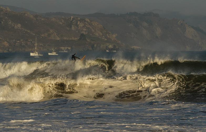 bolinas surf, Bolinas Jetty