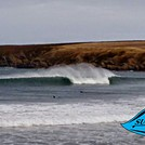 Suds Surf School - good day at Sandend, Sandend Bay