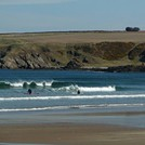 Suds Surf School - Surf lesson at Sandend, Sandend Bay