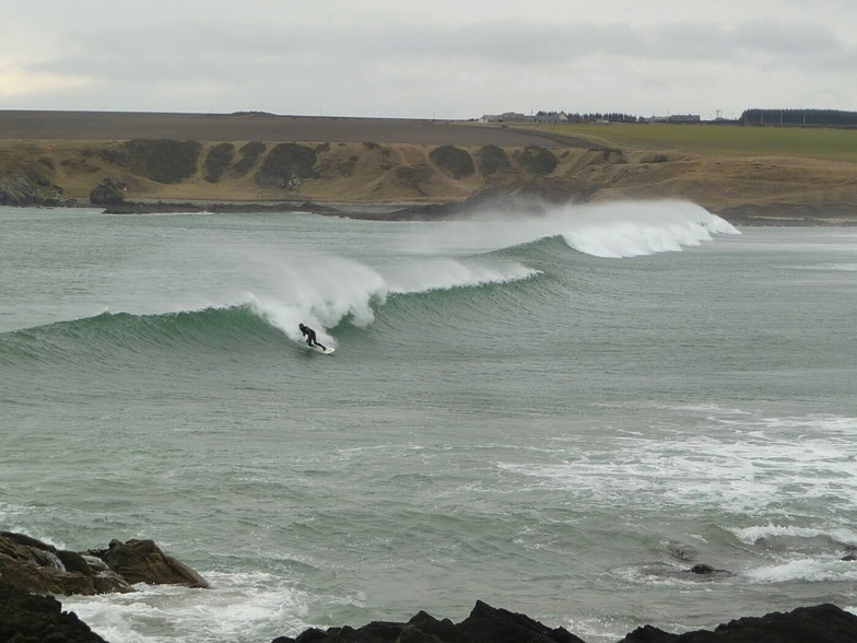 Suds Surf School - fun day at Sandend, Sandend Bay