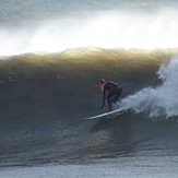 Wintry offshore sessions., Fitzroy Beach