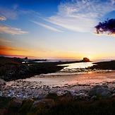Beg an Tour at sunset