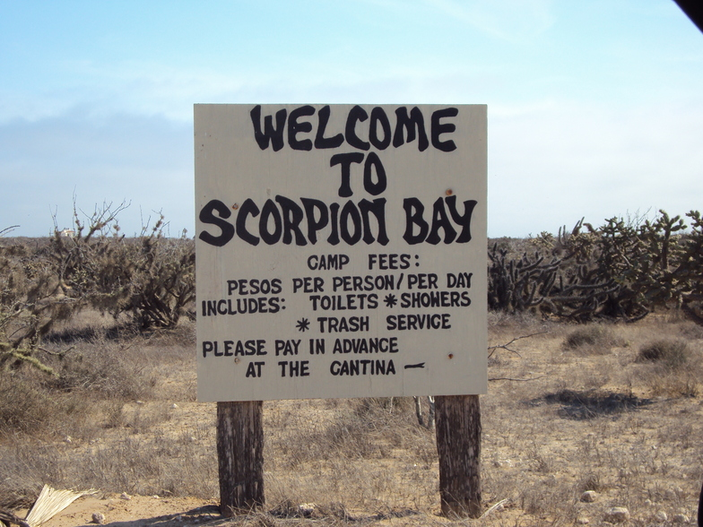 Welcome to Mexico, welcome to Scorpion Bay, Scorpion Bay (San Juanico)