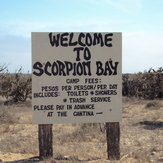Welcome to Mexico, welcome to Scorpion Bay