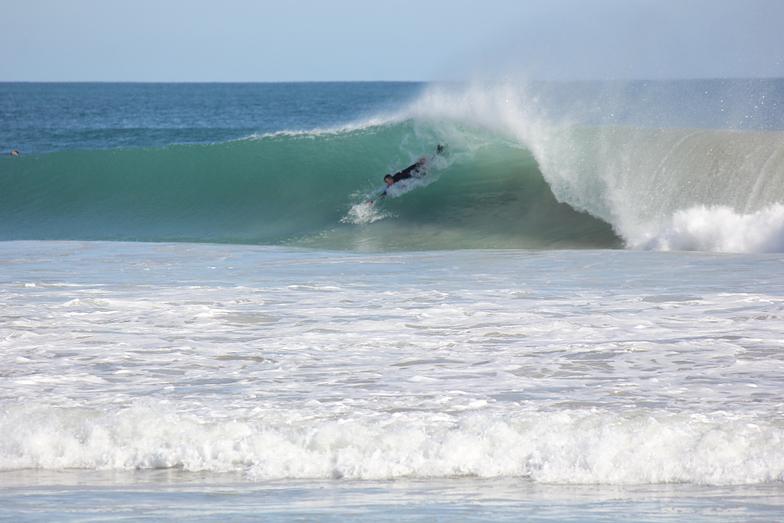 Myself body surfing, Secret Harbour