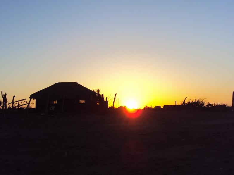 Sunset, Scorpion Bay (San Juanico)